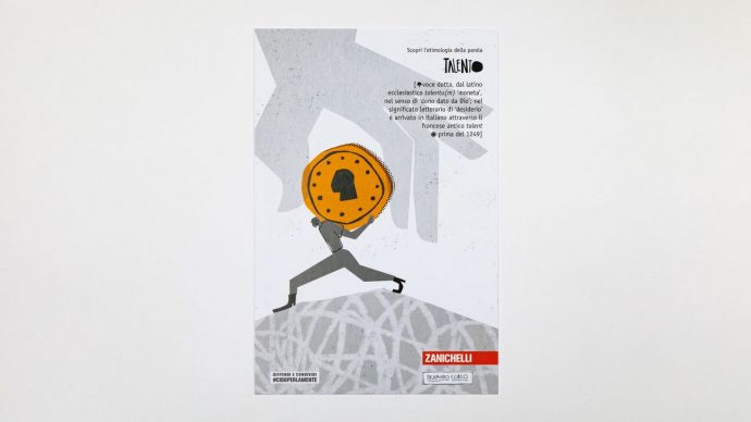 TALENTO, cartolina di Fernando Cobelo, courtesy l'artista