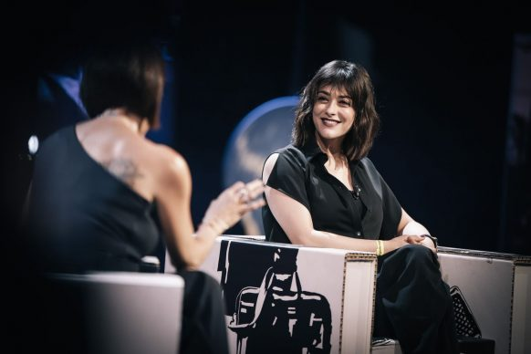 Valentina Lodovini, ospite della 24esima puntata di Luce Social Club