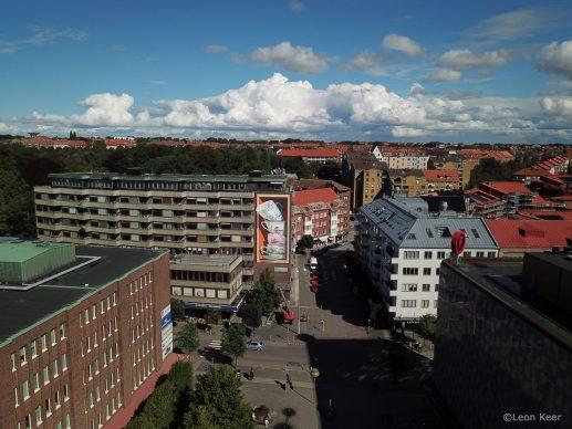 Leon Keer, Shattering, Helsingborg, courtesy l'artista