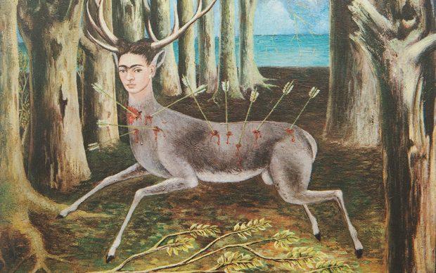 Frida Kahlo Il cervo ferito, 1946 Olio su masonite 22,4 x 30 cm Collezione privata Riproduzione formato Modlight © Banco de México Diego Rivera & Frida Kahlo Museums Trust, México D.F