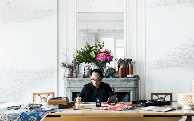 APR - Kenzo Takada - Option - Atelier in Paris ©Zoé Fidji