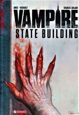Ange e Patrick Renault, Charlie Adlard – Vampire State Building (SaldaPress, 2020). Copertina