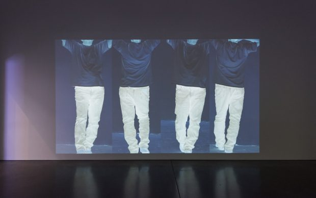 Bruce Nauman, Contrapposto Studies, I through VII, 2015-16. Pinault Collection and Philadelphia Museum of Art. © Bruce Nauman : Artists Rights Society (ARS), New York