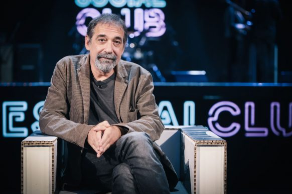 Emanuele Trevi, ospite del 28esimo episodio di Luce Social Club