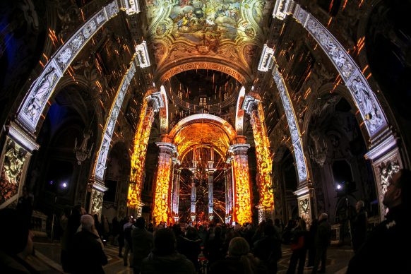 Exstasis, chiesa di Santa Caterina (Palermo). Photo credit Paolo Castronovo