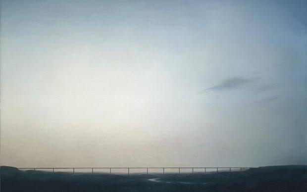 Gerhard Richter, Ruhrtalbrücke, 1969. Öl auf Leinwand, 120 x 150 cm, GR 228. Private Collection. Courtesy Hauser & Wirth Collection Services © Gerhard Richter