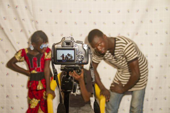 KENE/Spazio, immagine scattata durante i laboratori a Bamako, courtesy Studio KENE