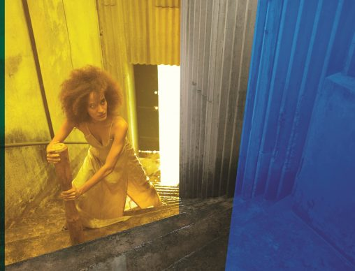 Isaac Julien. Resurrection (MAXXI commission), 2020. Collage fotografico. 792 x 605 cm. Courtesy Isaac Julien Studio