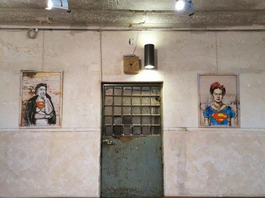Lediesis, SuperWomen. Allestimento interno del Semiottagono delle Murate, Firenze. Crediti Lediesis