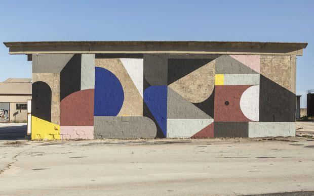 L'opera di Greg Jager a Ragusa. Foto di Marcello Bocchieri
