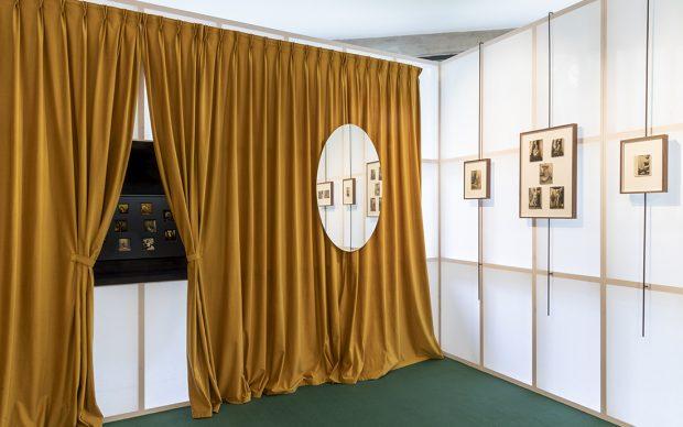 Mollino/Insides. Veduta della mostra, fotografie di Carlo Mollino. Collezione Maramotti, 2020. Photo Roberto Marossi