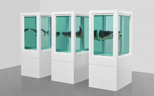 Myth Explored, Explained, Exploded, 1993. Photographed by Prudence Cuming Associates © Damien Hirst and Science Ltd. All rights reserved, DACS 2020