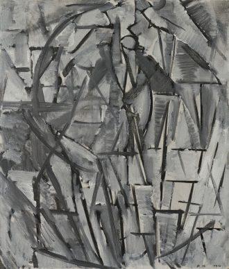 Piet Mondrian, Eukalyptus, 1912 Oil on canvas, 60,0 x 51,0 cm. Fondation Beyeler, Riehen / Basel, Beyeler Collection © Mondrian /Holtzman Trust c/o HCR International Warrenton, VA USA Photo Robert Bayer, Basel