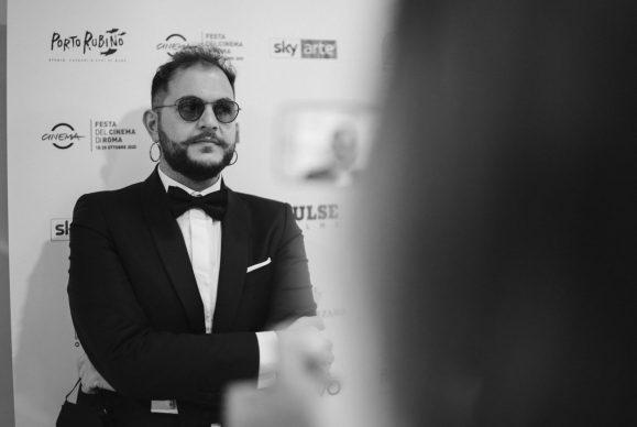"""Renzo Rubino alla proiezione di """"Porto Rubino. Storie, canzoni e lupi di mare"""" alla Casa del Cinema di Roma, 2020"""