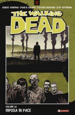 Robert Kirkman, Charlie Adlard e altri – The Walking Dead vol. 32 – Riposa in pace (SaldaPress, 2019). Copertina