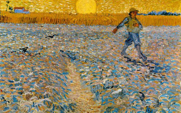 Vincent van Gogh, Il seminatore, 1888, olio su tela, cm 64,2 x 80,3. Collection Kröller-Müller Museum, Otterlo, the Netherlands © 2020 Collection Kröller-Müller Museum, Otterlo, the Netherlands; Photography Rik Klein Gotink, Harderwijk
