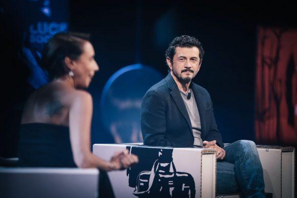 Vinicio Marchioni, ospite del 28esimo episodio di Luce Social Club
