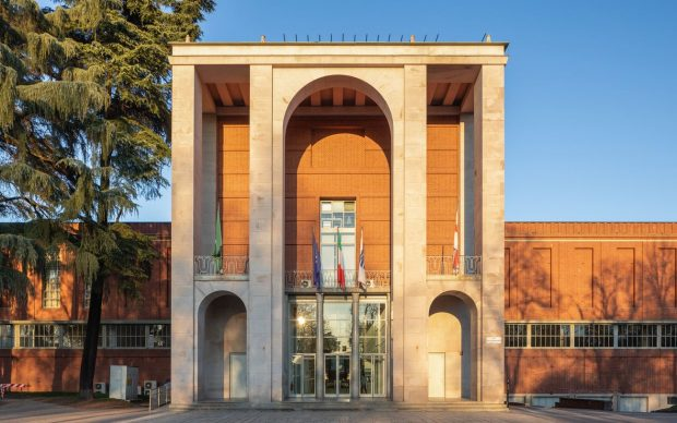 facciata © Triennale Milano - foto Gianluca Di Ioia