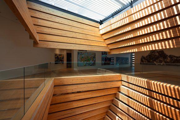 OMM - Odunpazari Modern Museum. Photograph by Batuhan Keskiner