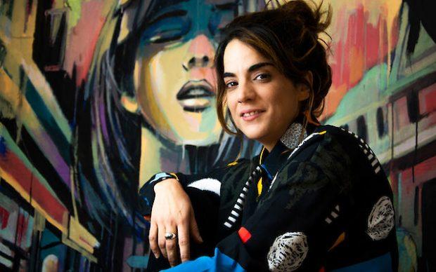 Alice Pasquini. Photo Accursio Graffeo