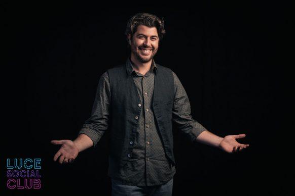 Antonio Pisu, ospite del 31esimo episodio di Luce Social Club
