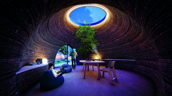 Mario Cucinella Architects,  TECLA, Massa Lombarda (Ravenna), 2019 © Mario Cucinella Architects
