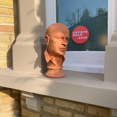 Artists Walk, Londra 2020. Craig Barnard. Courtesy l'artista