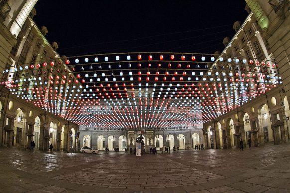 Torino, Luci d'Artista. Photo courtesy Città di Torino
