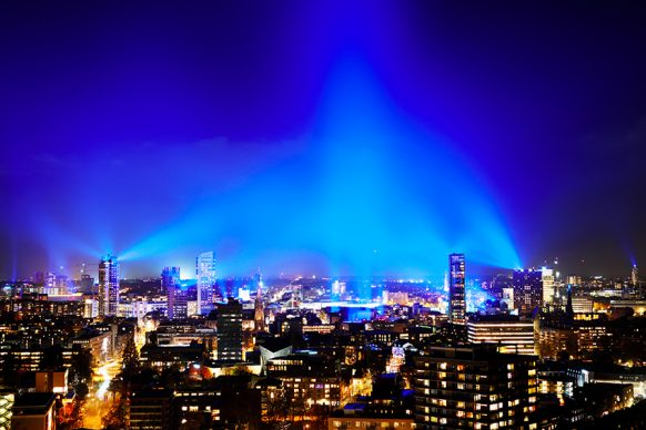 Eindhoven, GLOW Light Festival. Photo credits GLOW / Bart van Overbeekehtkunstwerk ter wereld