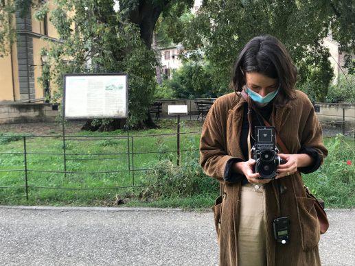 Un autoritratto di Carlotta Bertelli. Photo courtesy Carlotta Bertelli