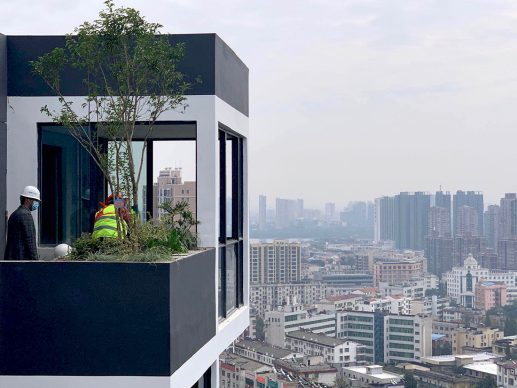 Easyhome Huanggang Vertical Forest City Complex Huanggang (c) Stefano Boeri Architetti