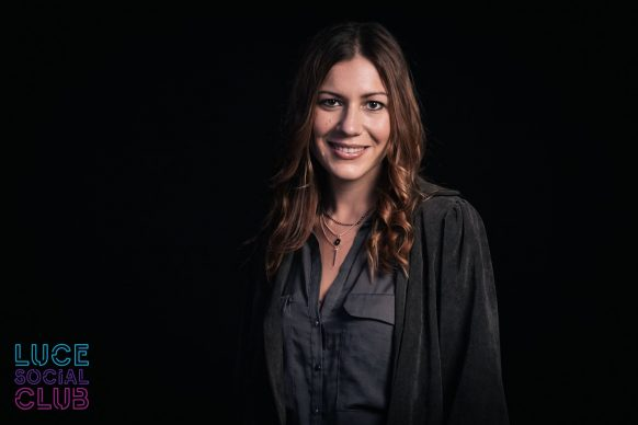 Francesca Mazzoleni, ospite della 32esima puntata di Luce Social Club