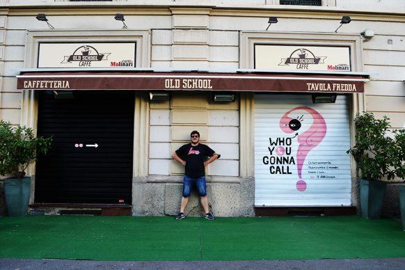 Giuseppe Bob Liuzzo, via Nievo, Milano. Courtesy IED