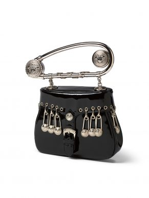 Gianni Versace, Safety-pin handbag, Spring-Summer 1994, Italy (c) Victoria and Albert Museum, London