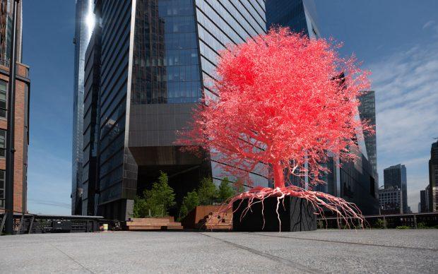 Pamela Rosenkranz, Old Tree. Courtesy High Line, New York