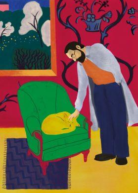 Henry Matisse illustrato da Virginia Taroni