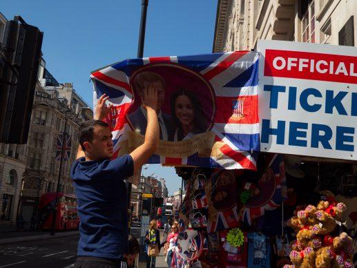 Il giorno del matrimonio del principe Harry e di Meghan Markle, Londra, Inghilterra, 2018 © 2019 Thomas Dworzak / Magnum Photos