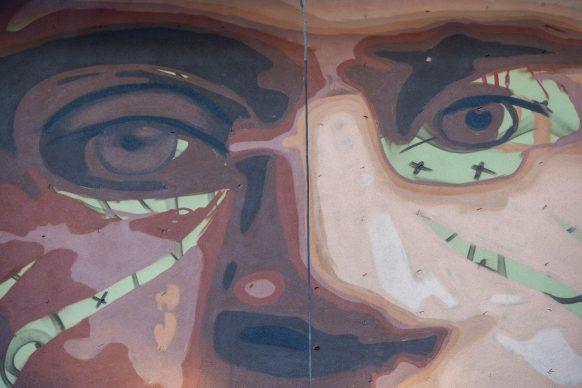 Il murale di Jorit a Firenze © Marco Borrelli