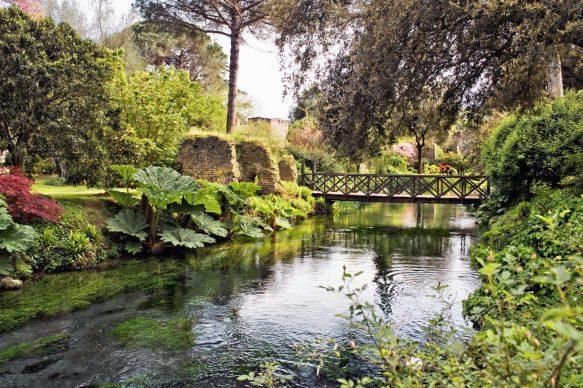 Lazio, Giardino di Ninfa, photo S. Manfredini - Archivio Fondazione Roffredo Caetani