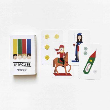 Le Recluse, carte da gioco © Progetto Undici