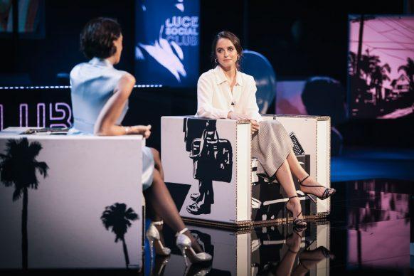 Matilde Gioli, ospite del 31eimo episodio di Luce Social Club