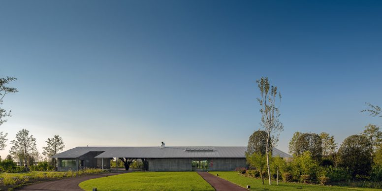 Premio Architetto italiano 2020. H – CAMPUS a Roncade (TV). Capogruppo architetto Mariano Zanon. Photo © Marco Zanta