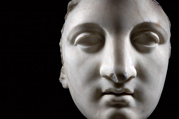 MANN, campagna Sette statue per sette giorni.  Protome di Giunone inv. 6264. Photo © Luigi Spina