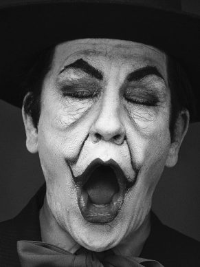 Herb Ritts / Jack Nicholson, London (1988), 2014 c © Sandro Miller / Courtesy Gallery FIFTY ONE, Antwerp