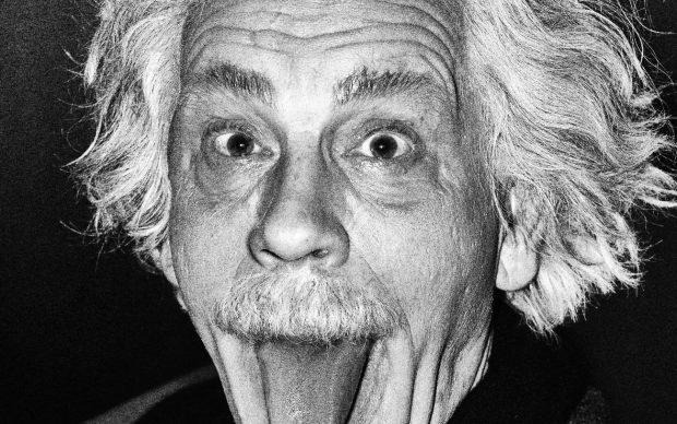 Arthur Sasse / Albert Einstein Sticking Out His Tongue (1951), 2014 © Sandro Miller / Courtesy Gallery FIFTY ONE, Antwerp