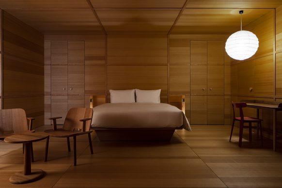 Shiroiya Hotel, Jasper Morrison Room. Photo®Shinya Kigure
