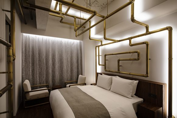 Shiroiya Hotel,Leandro Erlich Room. Photo®Shinya Kigure