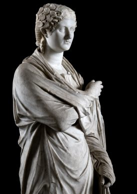 MANN, campagna Sette statue per sette giorni. Statua femminile 6244. Photo © Luigi Spina