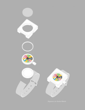 Studio PAULBAUT, Daycare-at-Home Watch. Technical drawing. Credit Studio PAULBAUT