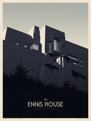 Phantom City Creative, The Ennis House. Courtesy of the Frank Lloyd Wright Foundation and Spoke Art Gallery